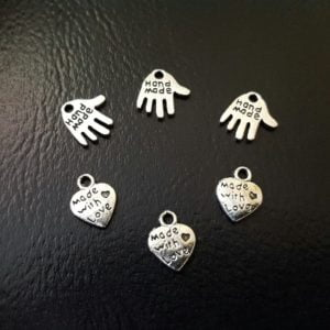 Handmade Tags & Belocker i metall