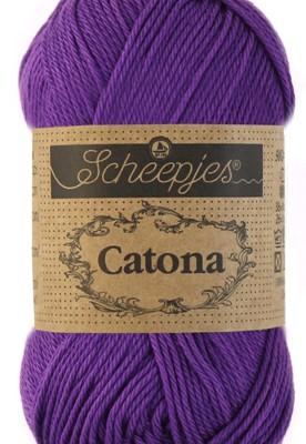 Scheepjes Catona 521 Deep Violet