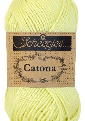Scheepjes Catona Lemon Chiffon 100