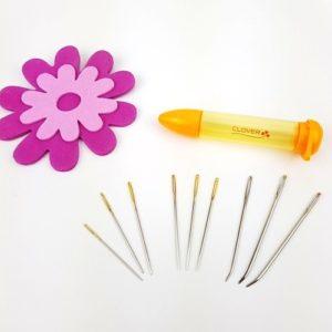 Nåletuier med nålar