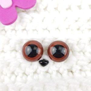 Säkerhetsögon alla Färger 18 - 24 mm