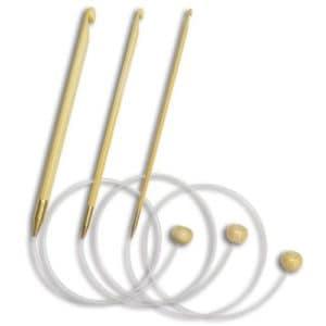 Kroknålar m kabel