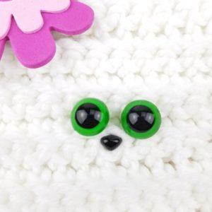 Säkerhetsögon alla Färger 15 mm