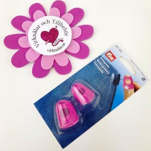 Fingerskydd Nålgreppare Rosa 2p nr 611 103 från Prym