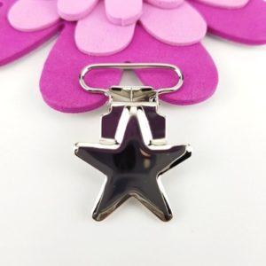 Clips i Metall Stjärnor