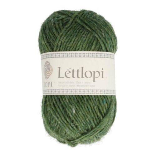 Lettlopi från Istex Ullgarn Grön Lyme Grass 50 g nr 1706 Virknålar och Tillbehör